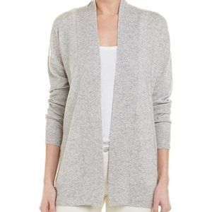 VINCE New gray cardigan wool cashmere sz XS